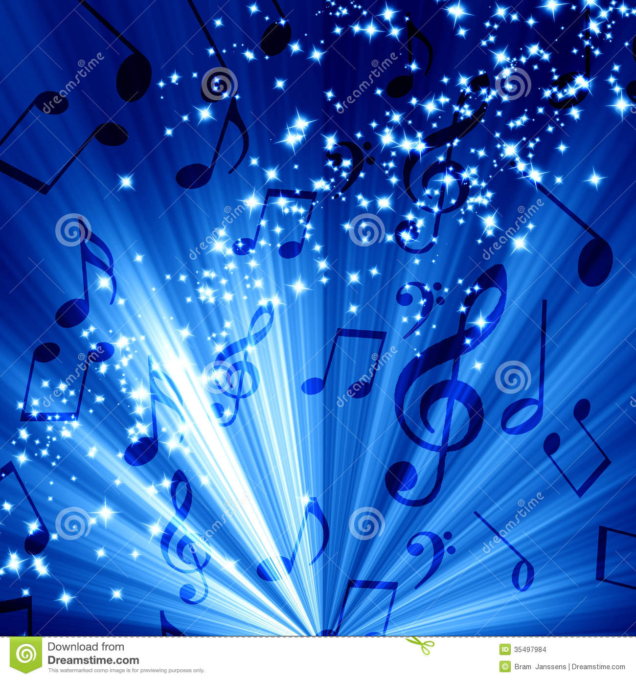 blue music notes wallpaper wallpapersafari