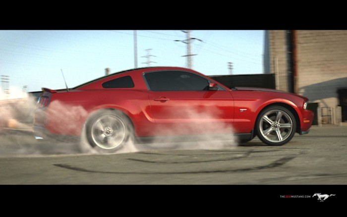 The 2010 Ford Mustang Screensaver download   Baixaki 700x438