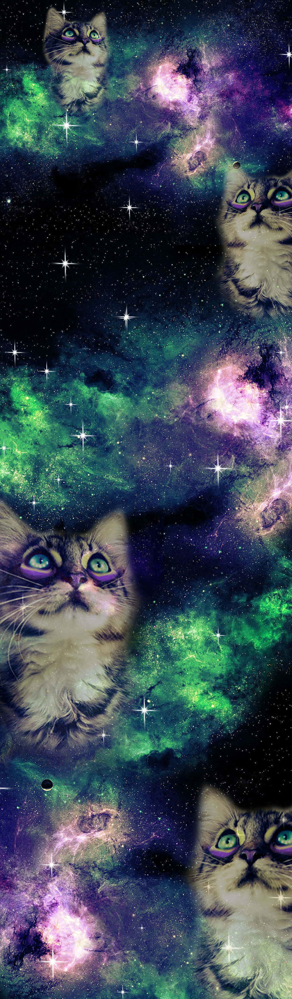 Space Cat Tumblr Backgrounds Galaxy Box Background By 1024x3498