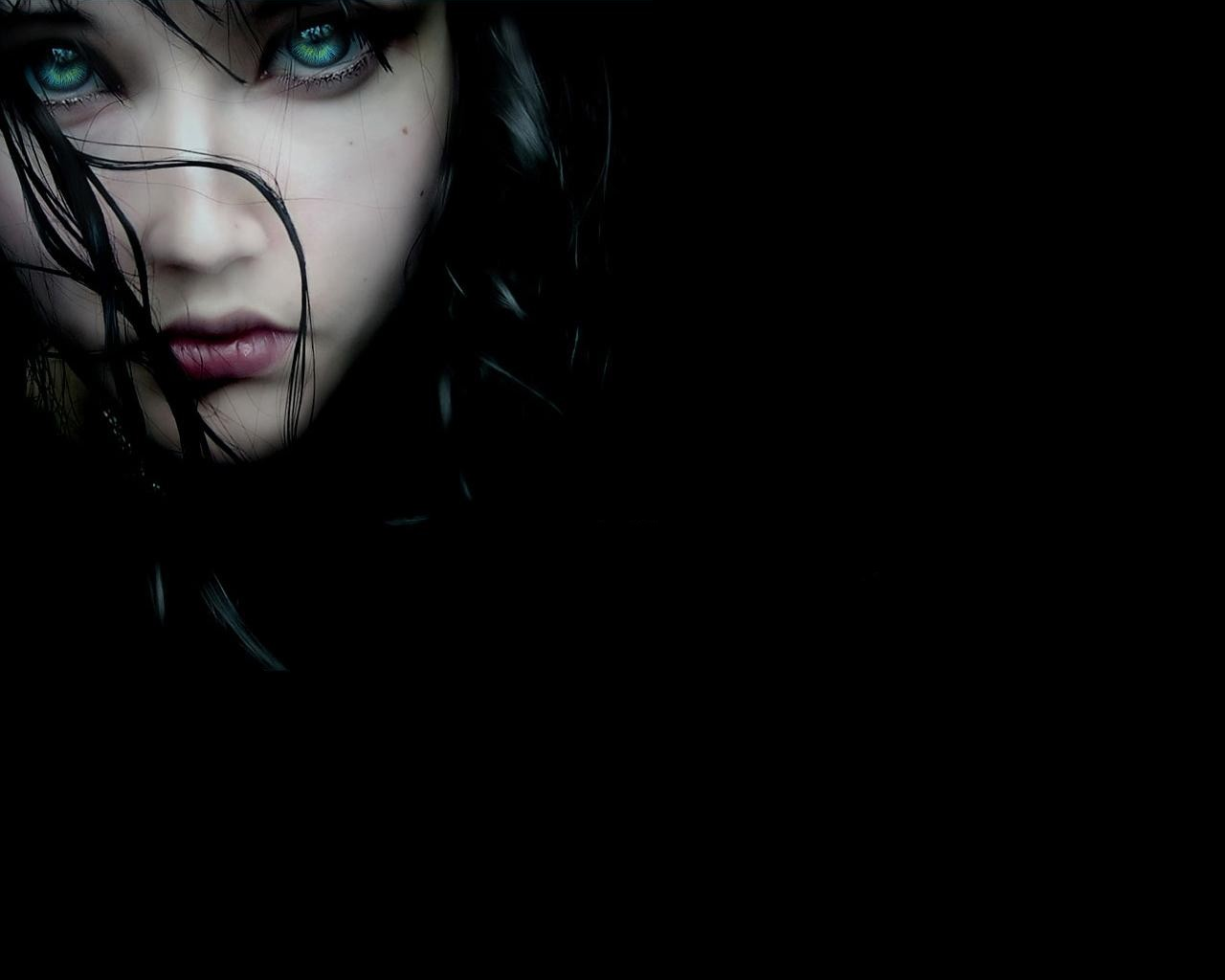 Black Woman Face Sad Wallpaper eyes sad 1280x1024