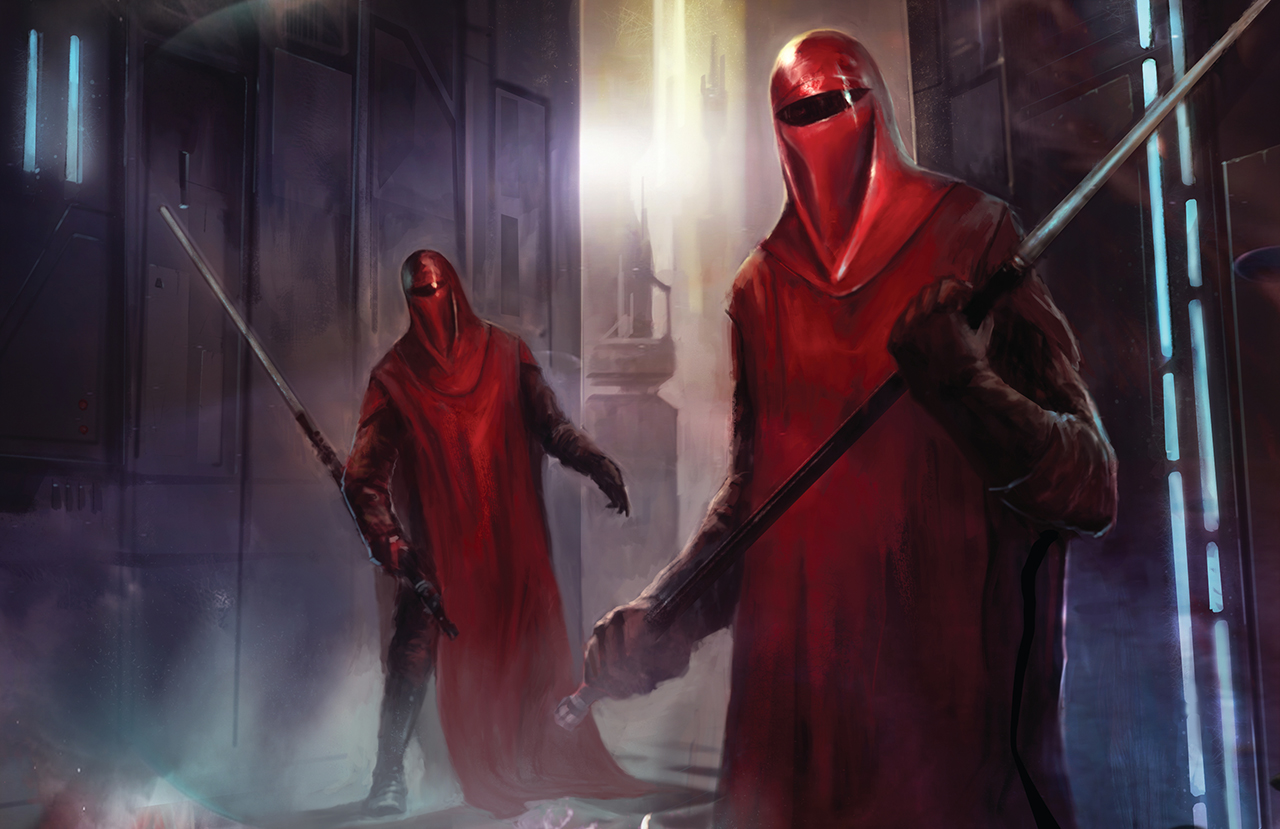 Star Wars Imperial Guard Wallpaper Emperors royal guard tcg core 1280x829