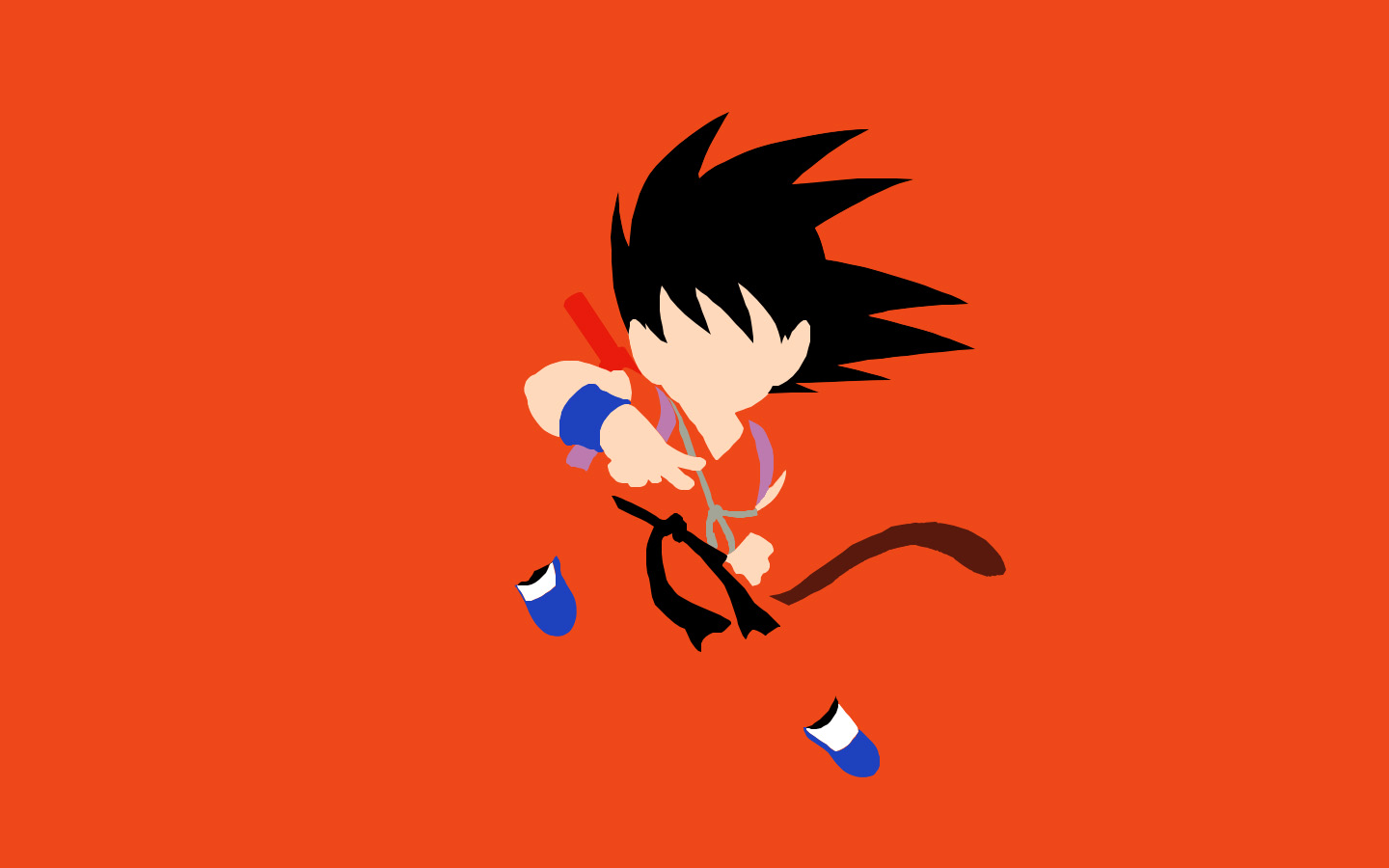 Kid Goku Wallpaper - WallpaperSafari