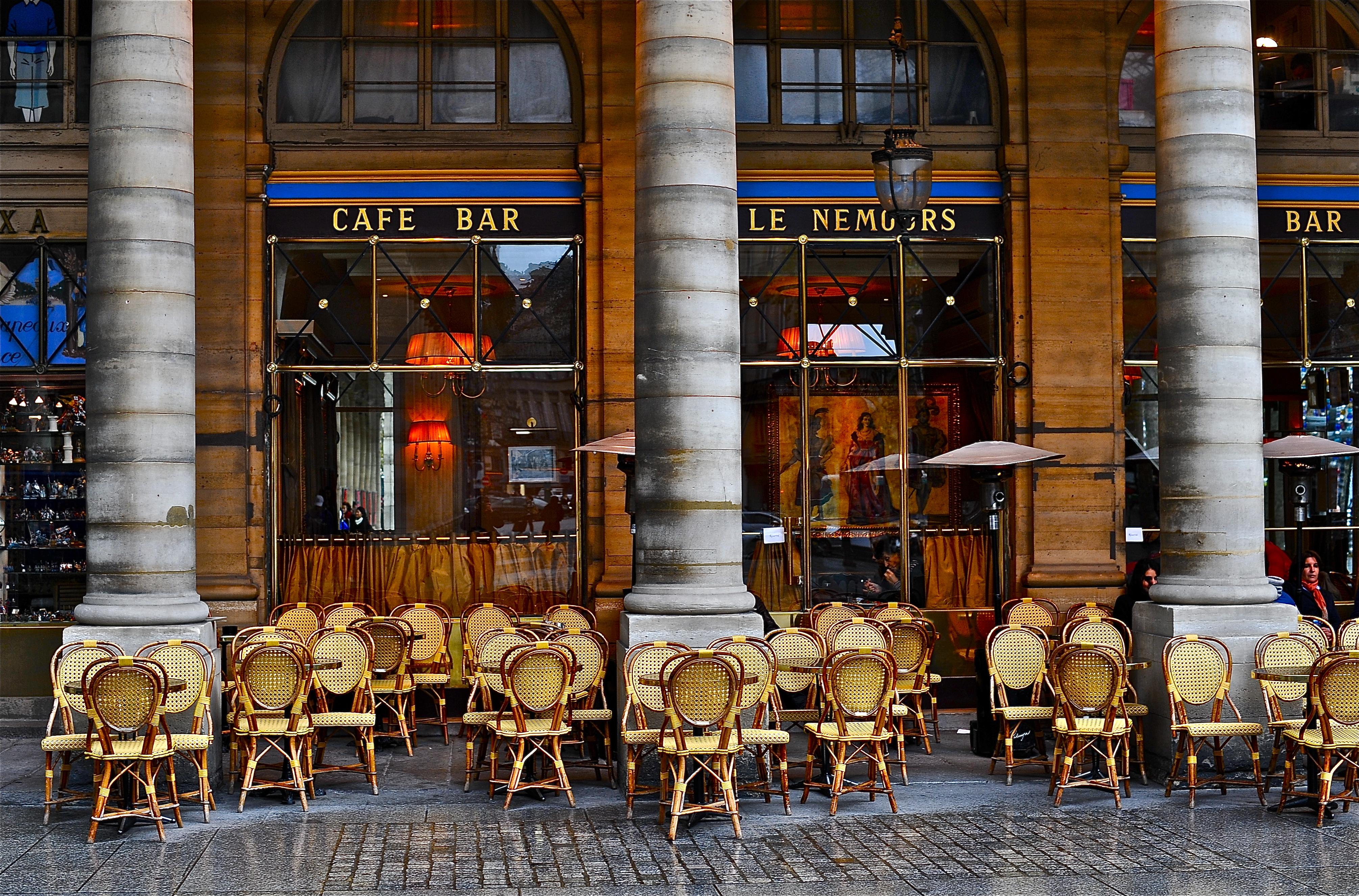 Paris Cafe Wallpaper Wallpapersafari