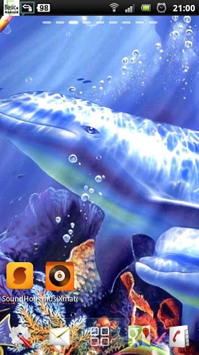 Download Dolphin live wallpaper for Android by TTR   Appszoom 288x512