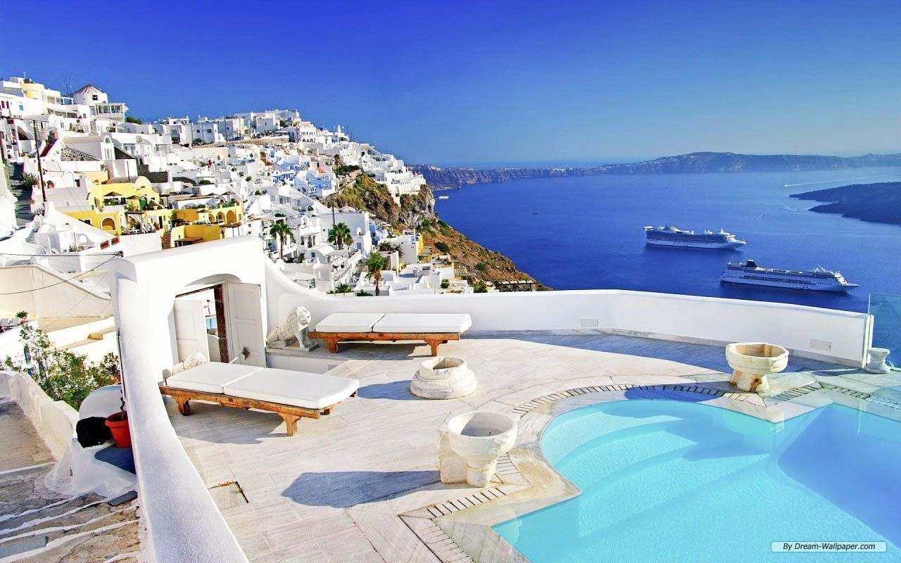 Santorini Amazing HD Wallpapers High Resolution HD Wallpapers 1280x800
