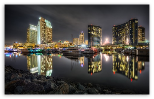 San Diego Bay HD wallpaper for Standard 43 54 Fullscreen UXGA XGA 510x330