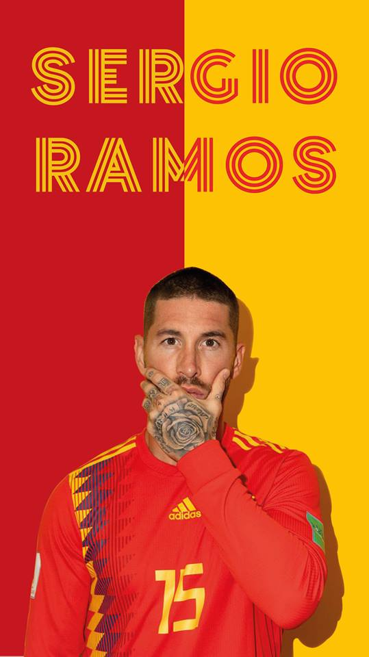 Quick Sergio RamosSpain wallpaper done   Real Madrid Trolling 539x960
