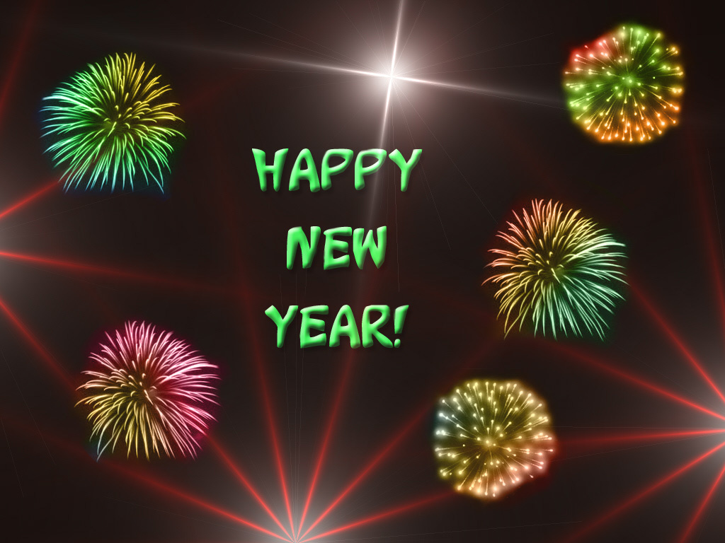 PSP Themes Wallpaper Happy New Year and Christmas Wallpapers 1024x768