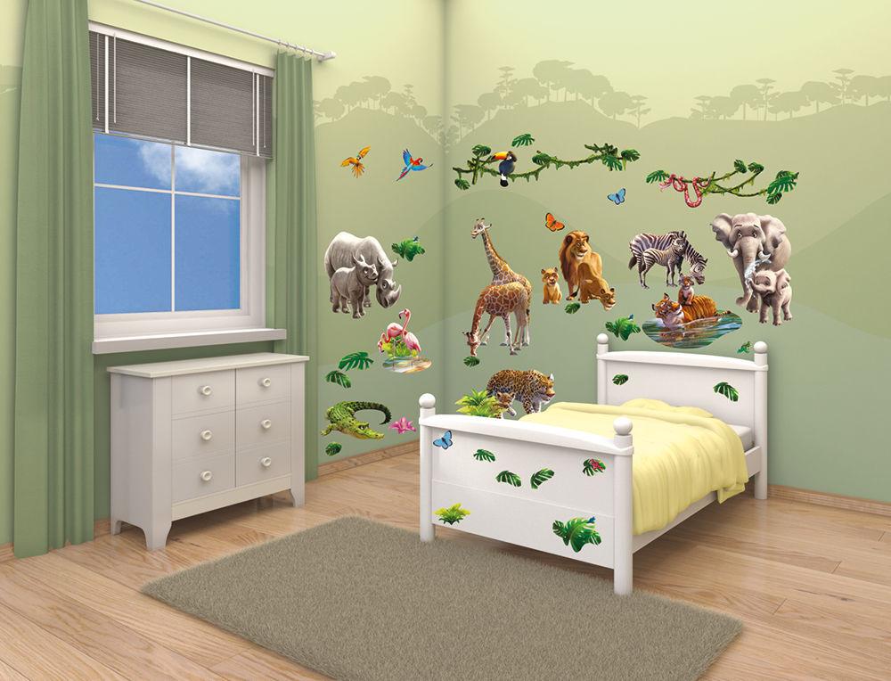 [48+] Jungle Wallpaper for Kids Rooms on WallpaperSafari