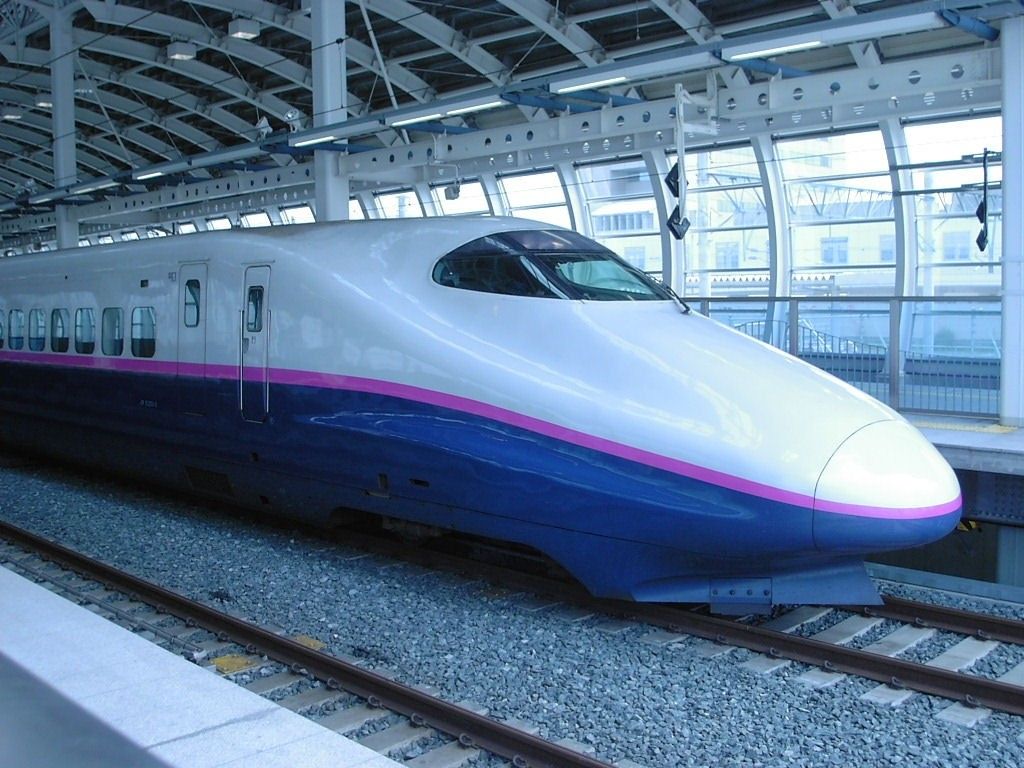 Shinkansen 700 Wallpaper Gallery 1024x768