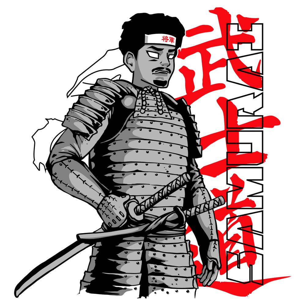 CORYxKENSHIN CORYxKENSHIN SAMURAI SHOGUN TEE Represent 1000x1000
