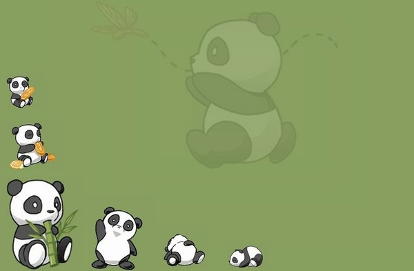 Panda Wallpaper by PandaCandy15 600x393