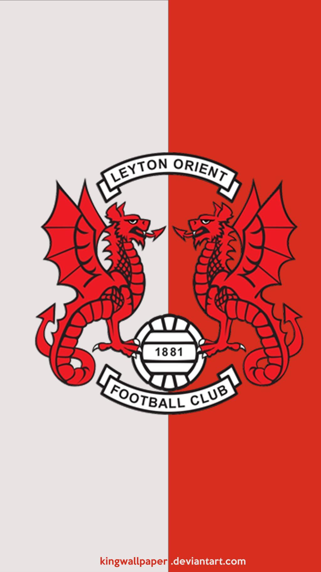 Leyton Orient moblie background by Kingwallpaper 1024x1821