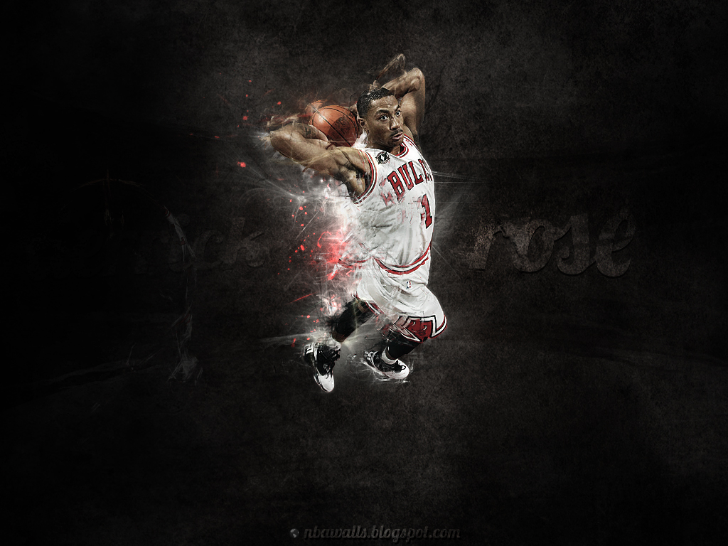 NBA Wallpaper   Derrick Rose wallpaper Chicago Bulls 1024x768
