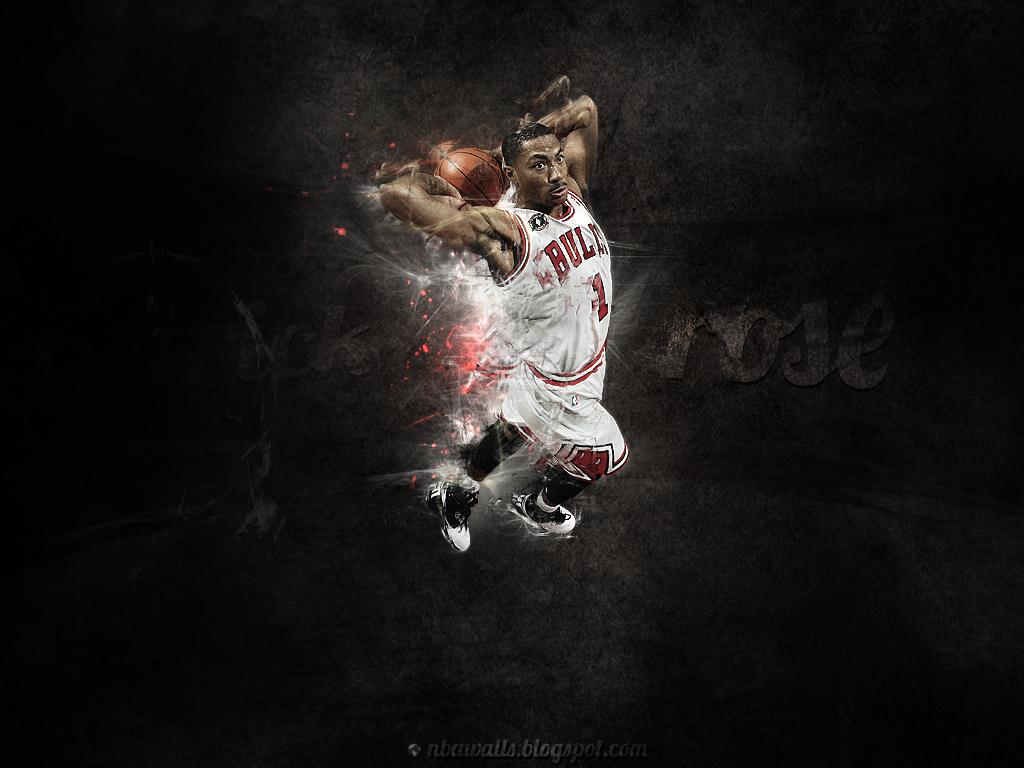 NBA Wallpaper   Derrick Rose wallpaper Chicago Bulls 1024x768