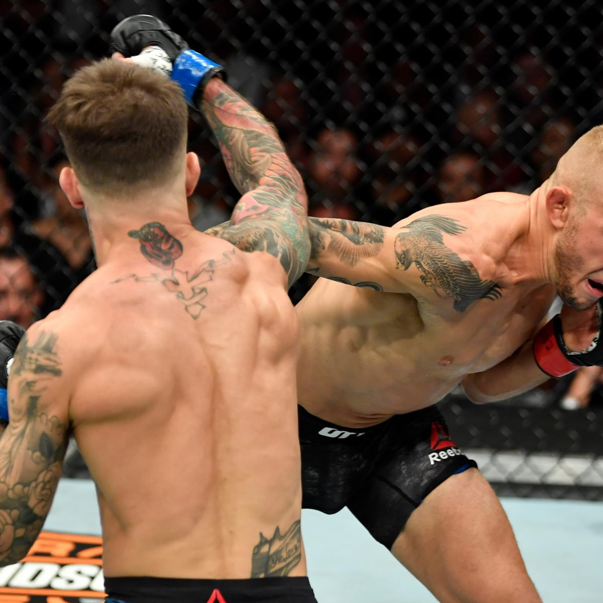TJ Dillashaw Beats Cody Garbrandt via 1st Round TKO at UFC 227 1200x1200