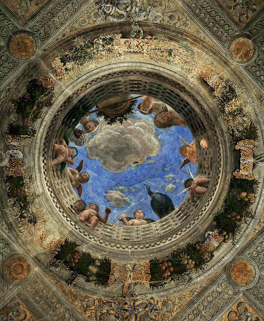 Oculus   A italian renaissance andrea mantegna art wallpaper picture 890x1080