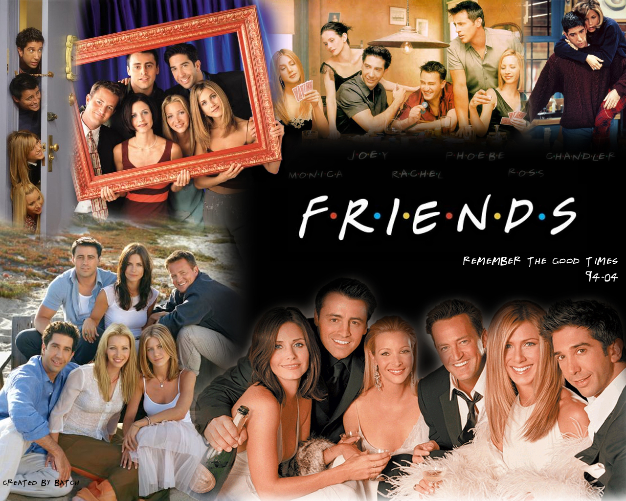Friends Commemorative Wallpaper   Friends Wallpaper 8131512 1280x1024
