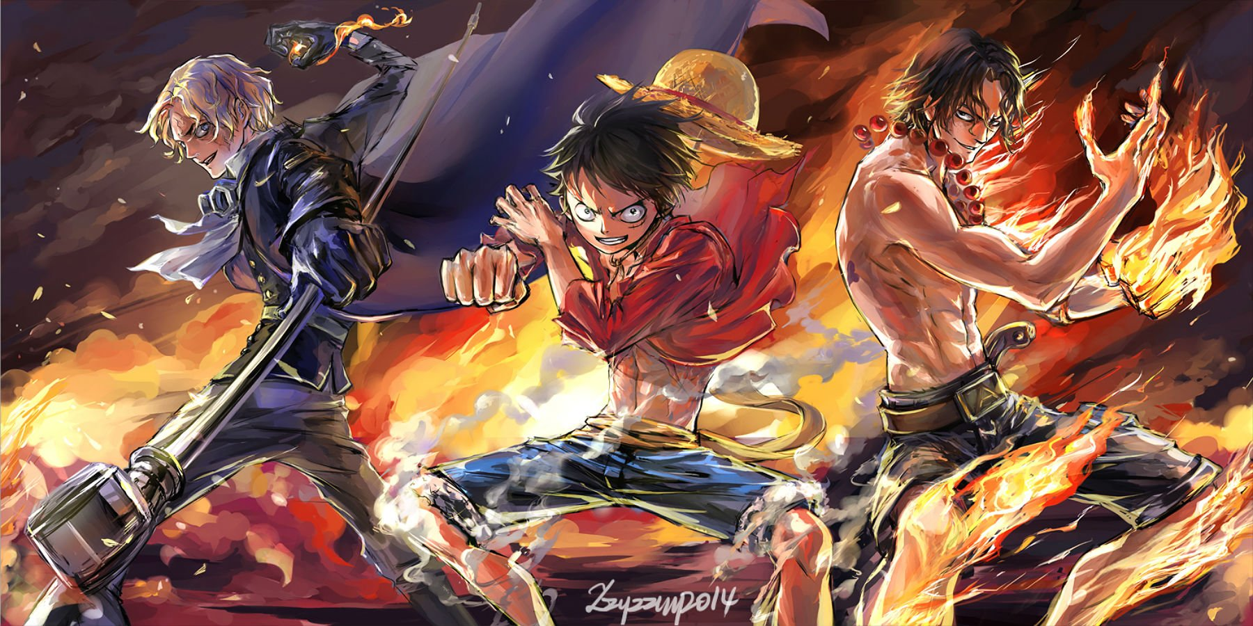 10 HD Wallpapers for One Piece Lovers   Anime Blog 1800x900