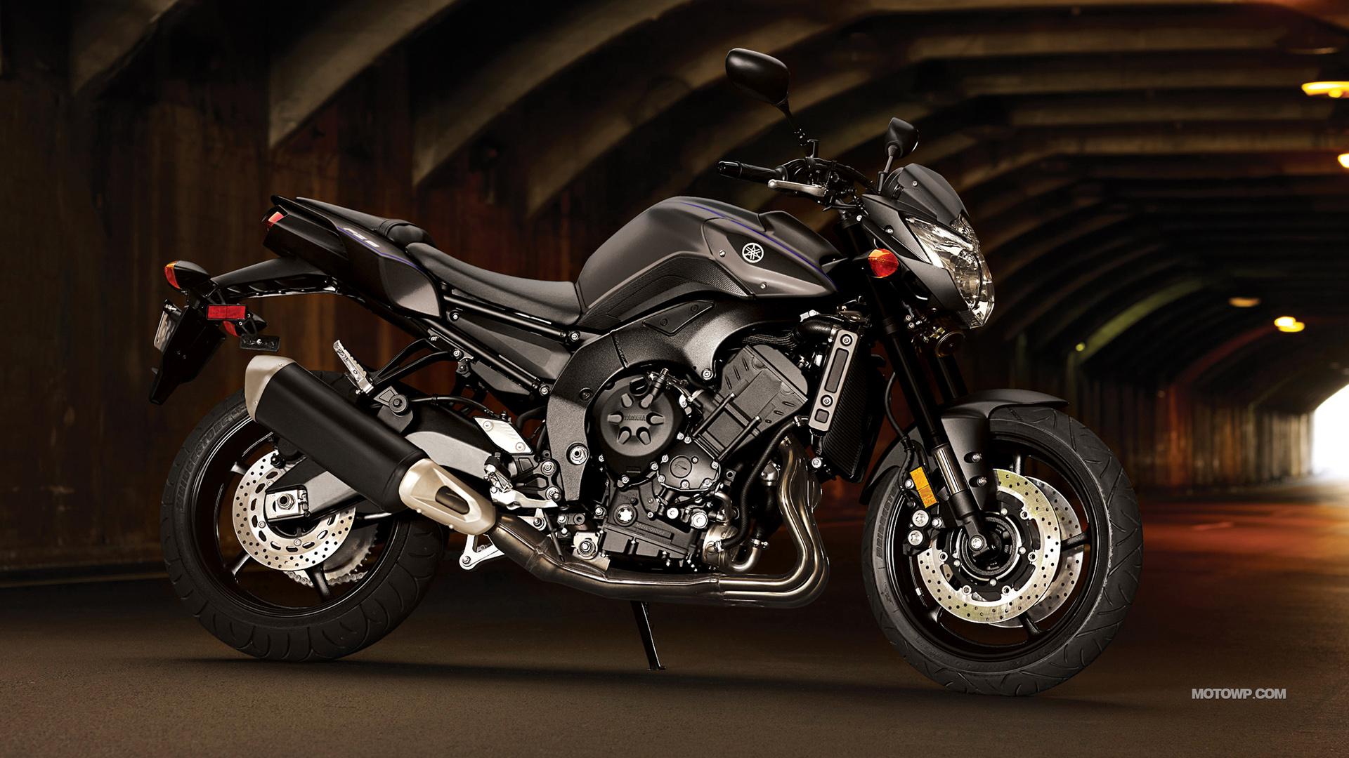Motorcycles desktop wallpapers Yamaha FZ8   2013 1920x1080