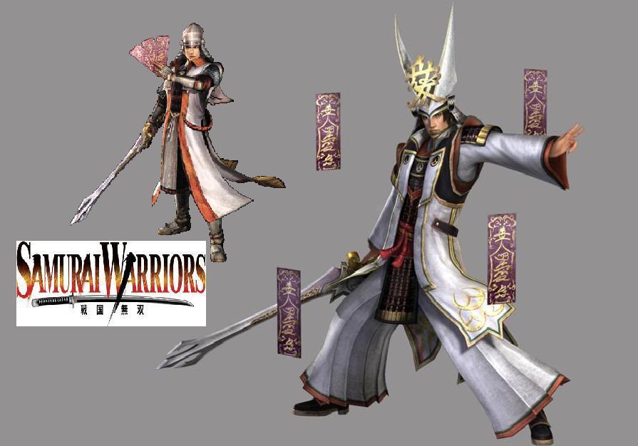 Samurai Warriors wallpaper 895x626