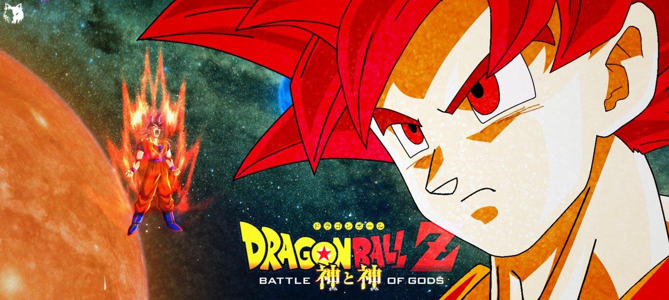 Free Download Goku Super Saiyan God Wallpaper Hd By Darthwolf98