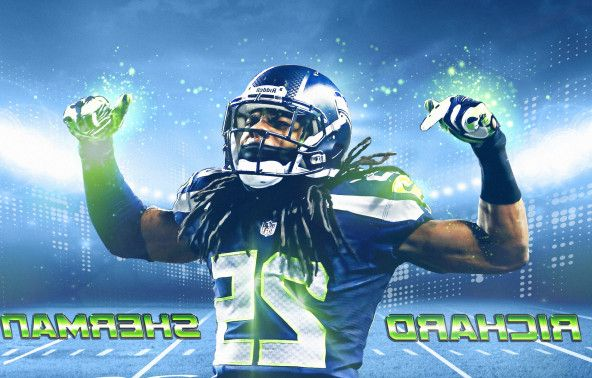 Richard Sherman Ipad Wallpaper 592x378