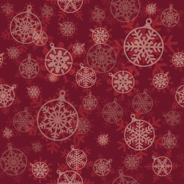 Christmas Pattern Vector Graphic traditional decoration 600x600