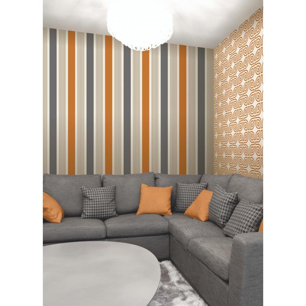 Orange Wallpaper Hd: Orange And Grey Wallpaper