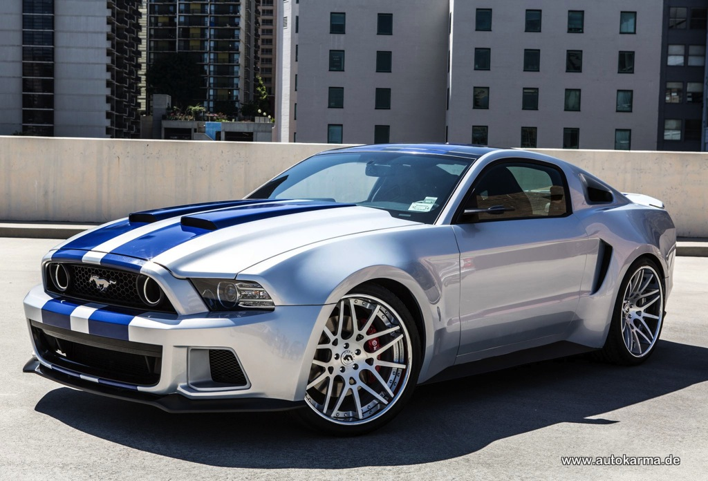 Wallpaper Need for Speed 2014 Ford Mustang 1024x696