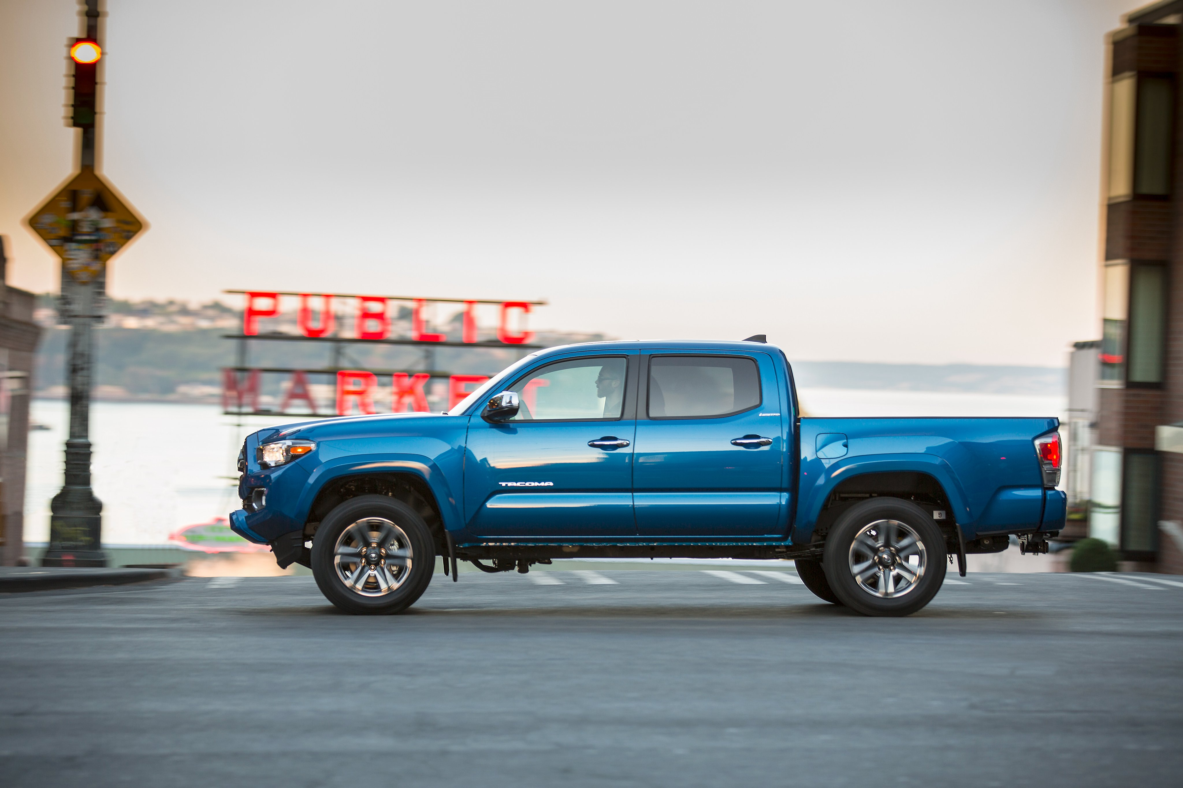 2016 Toyota Tacoma Limited DoubleCab pickup 4x4 wallpaper 4096x2731 4096x2731