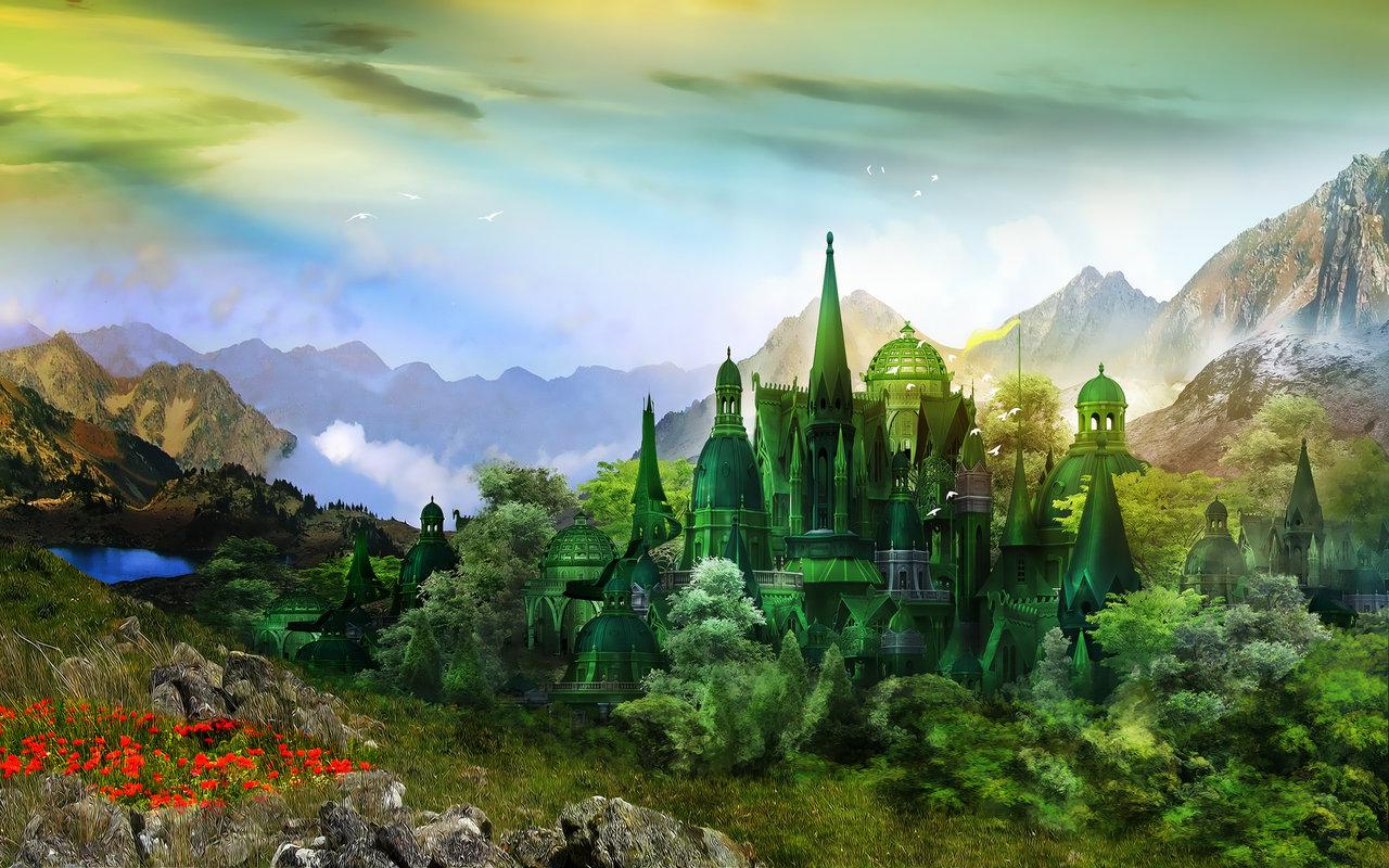 Emerald City by InertiaK 1280x800