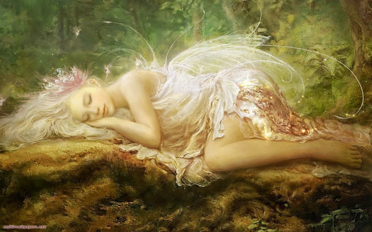 My HD Wallpapers Blog Archive Painting fairy   My HD Wallpapers 1280x800