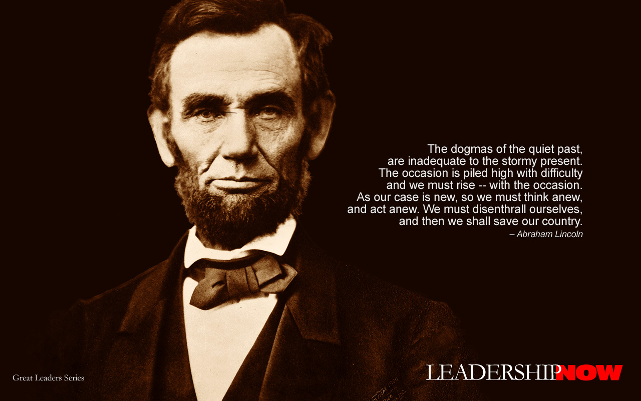 Abraham Lincoln On Leadership Quotes QuotesGram 1280x800