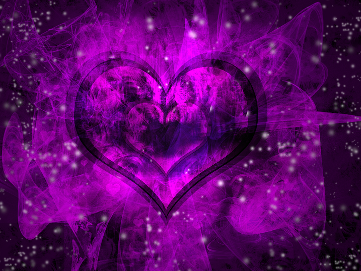 Beautiful purple heart wallpaper purple heart wallpaper purple 717x538