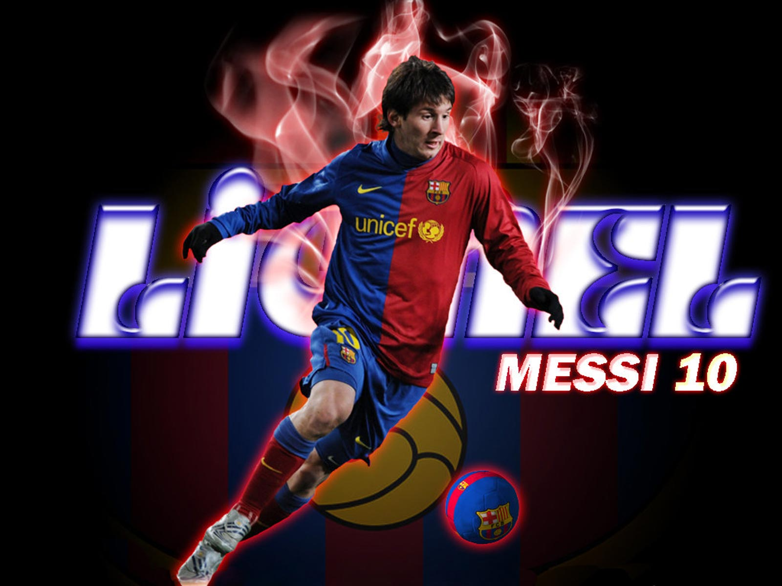 Lionel Messi wallpapersImage to Wallpaper 1600x1200