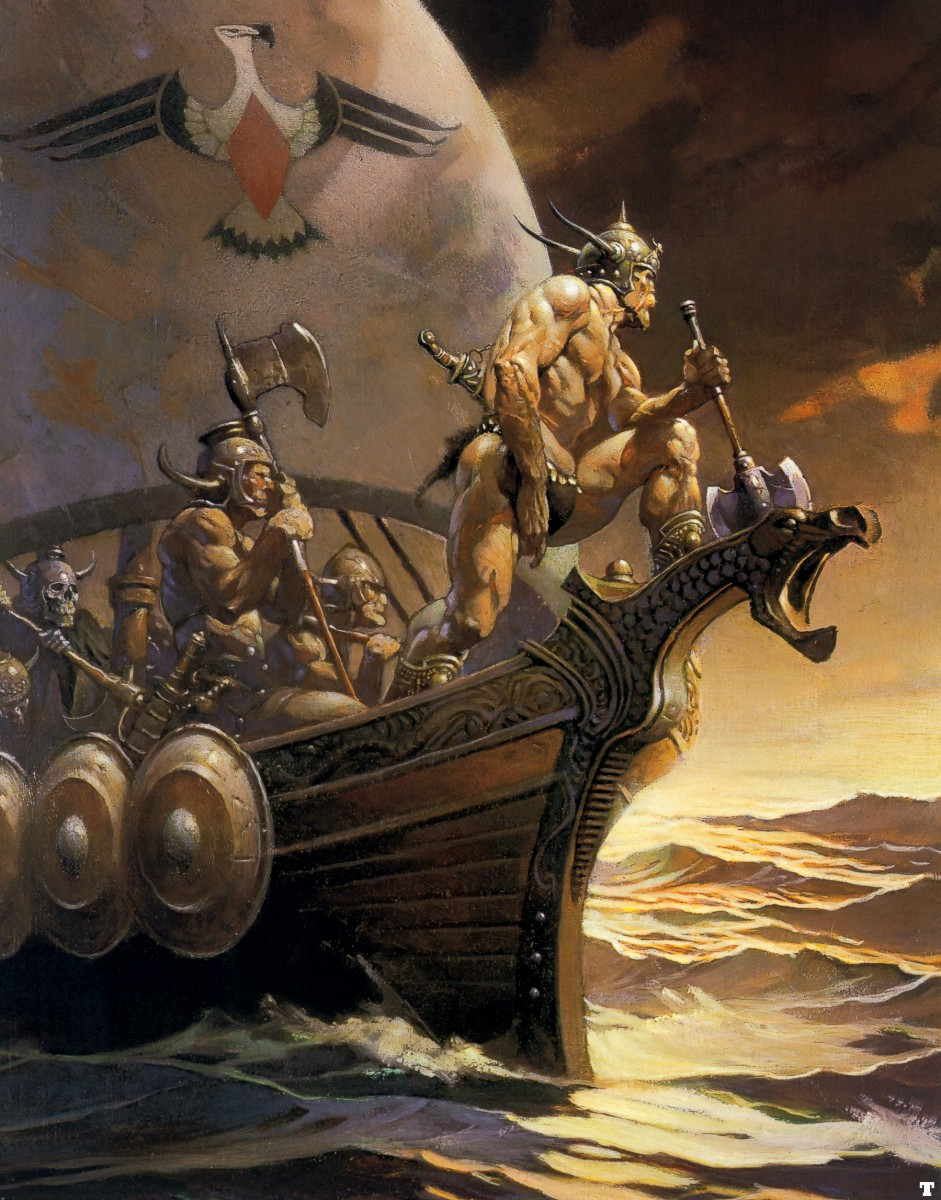 frank frazetta kaneonthegoldensea high resolution HD Wallpaper of 941x1200