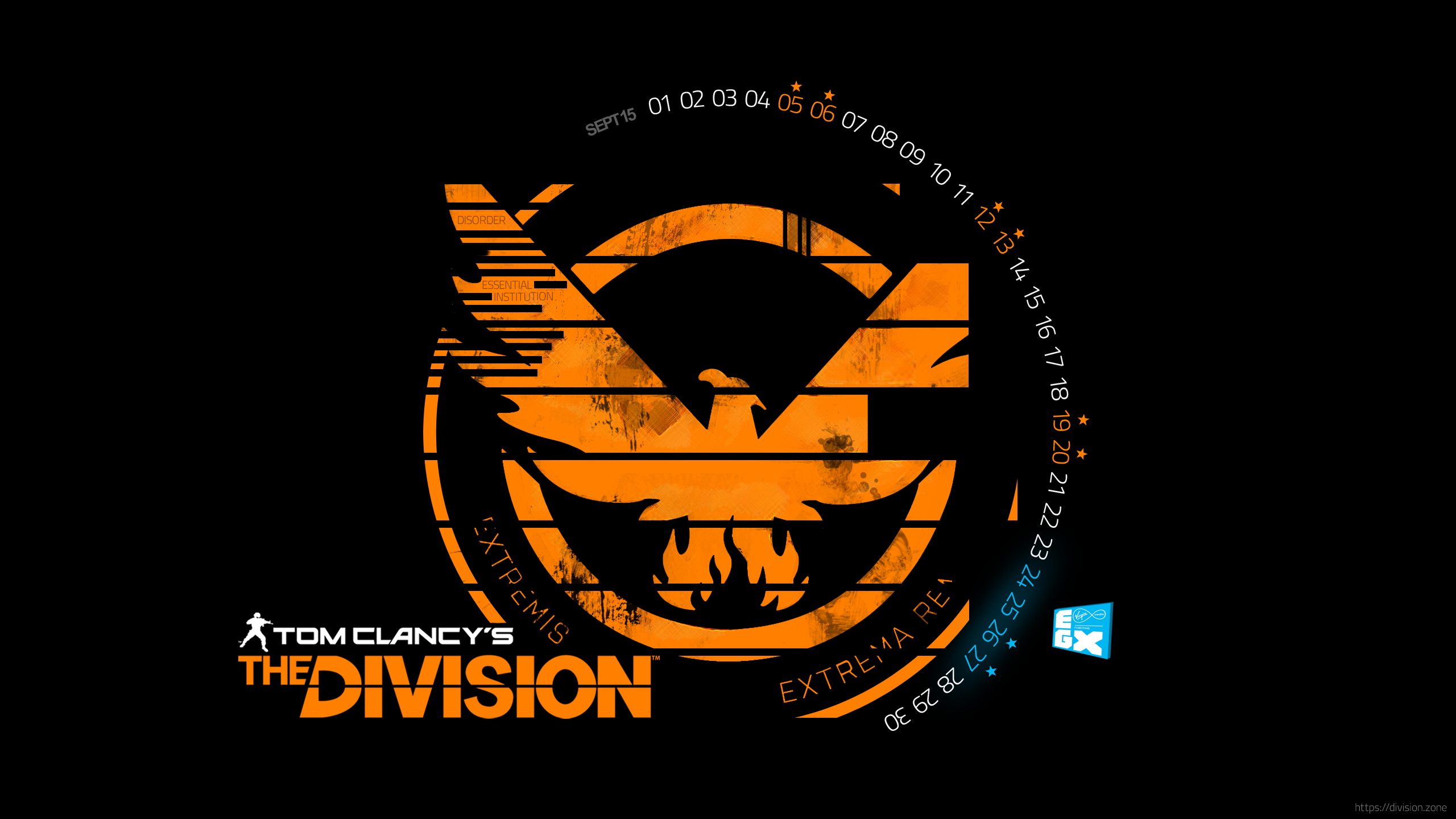 The Division Calendar 09 15 Wallpaper 2560x1440png 2560x1440