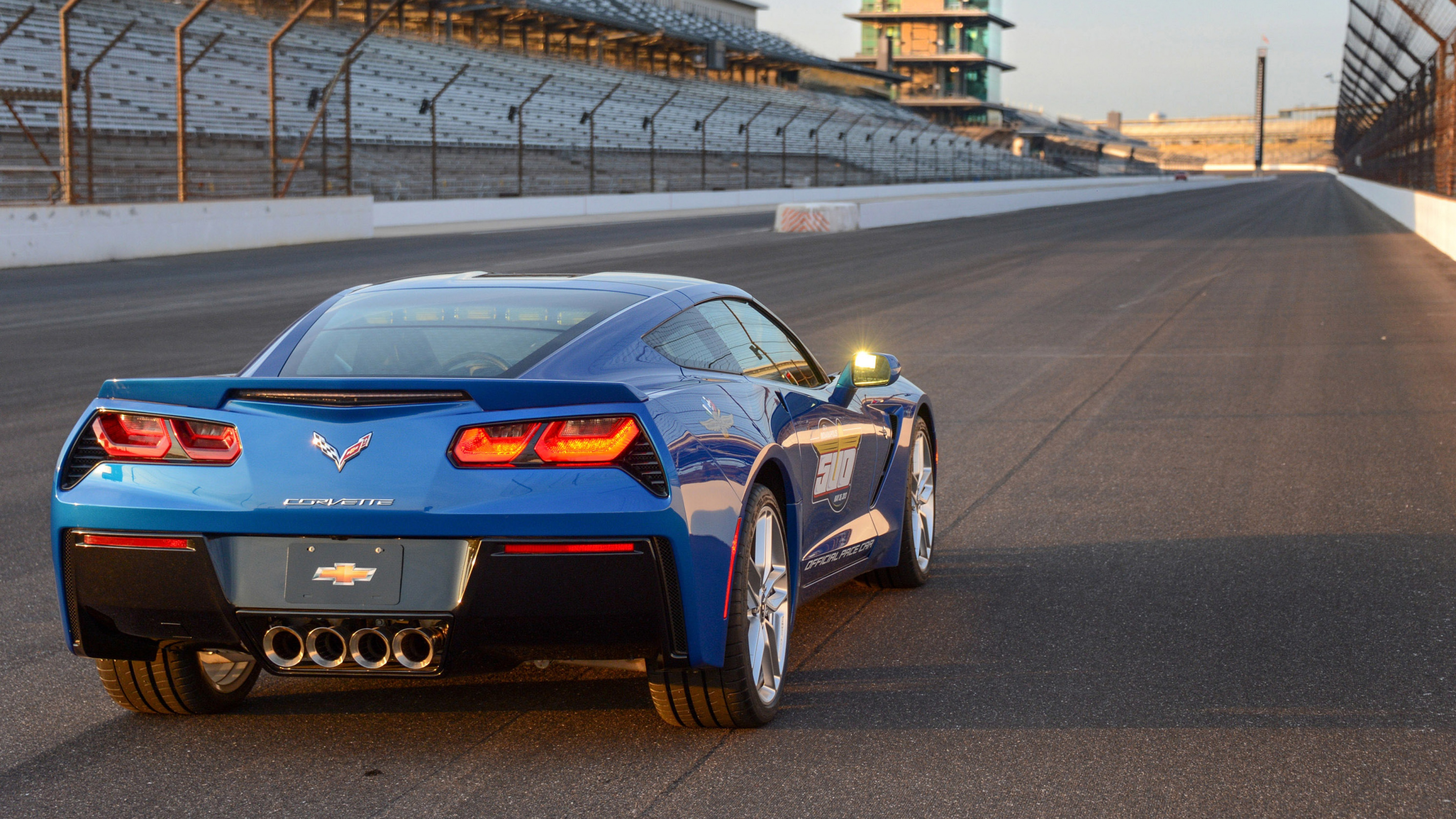 3840x2160 Wallpaper chevrolet corvette stingray c7 indy 500 pace 3840x2160