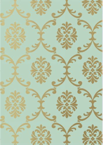 mint and gold wallpaper wallpapersafari. Black Bedroom Furniture Sets. Home Design Ideas