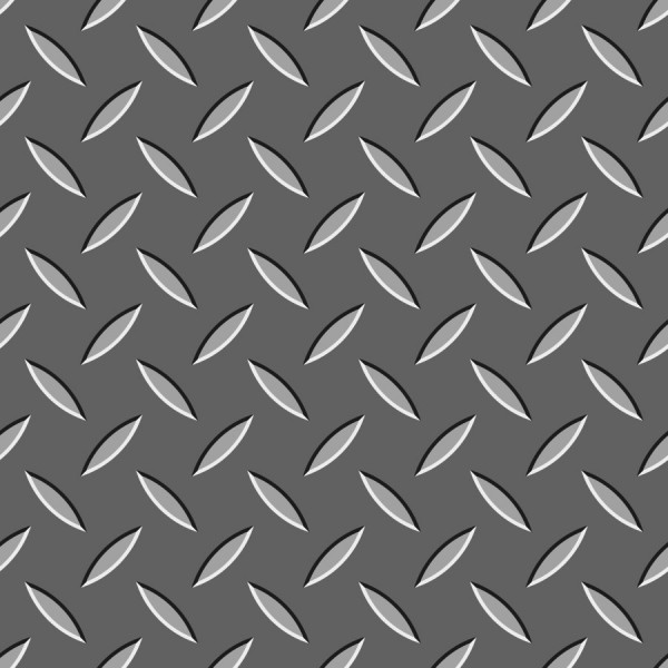 Diamond Plate Metal Backgrounds Vector Tiles 600x600