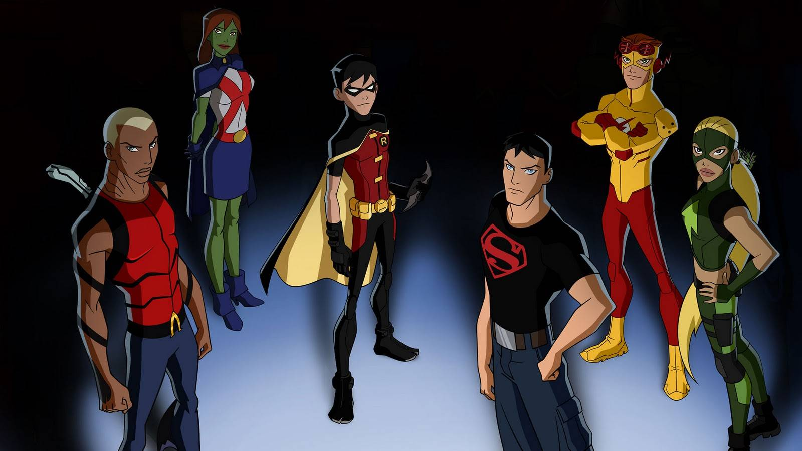 The Team   Young Justice Wallpaper 1600x900