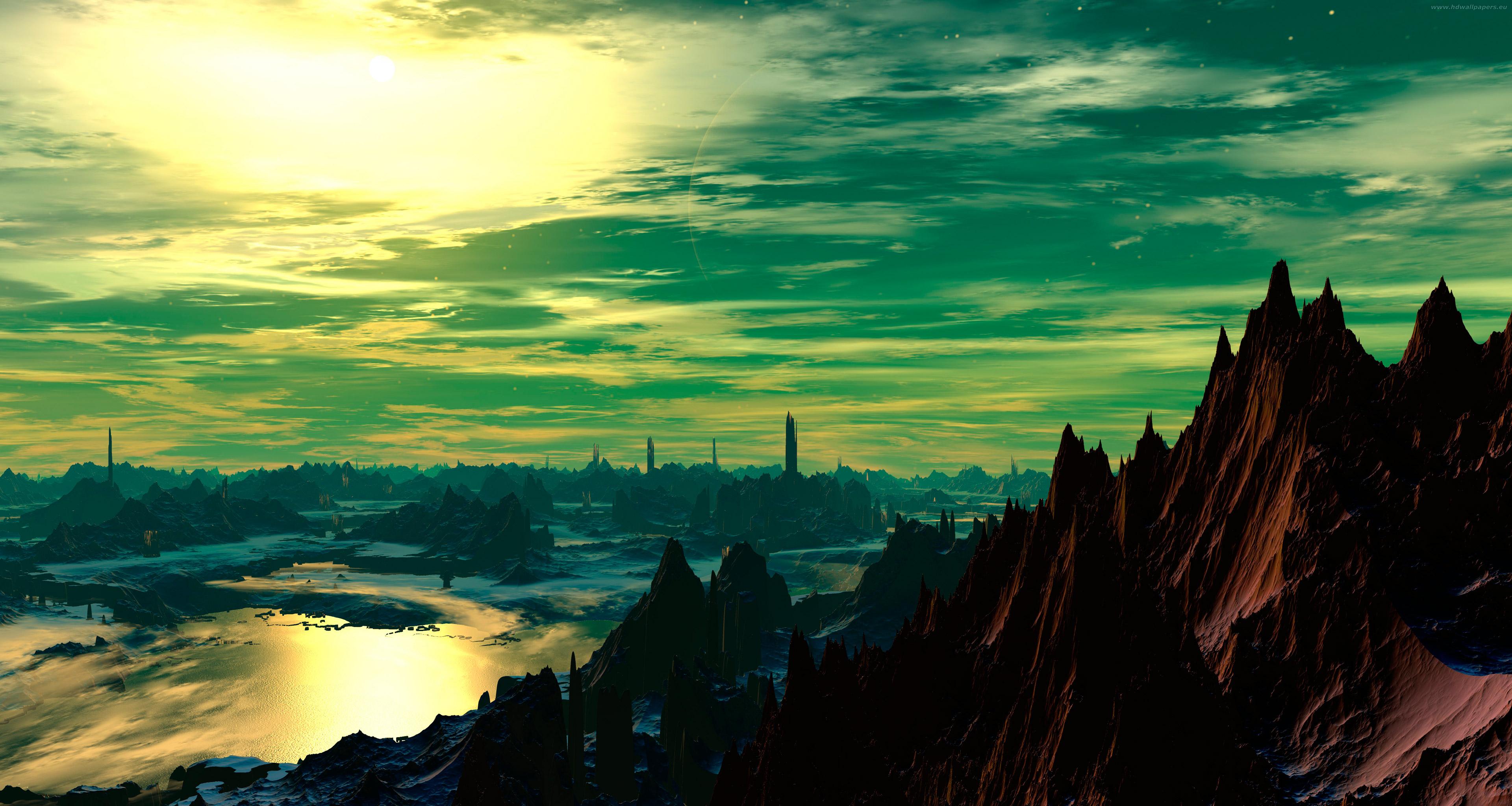 landscape ultrahd 3840x2048 3840x2048