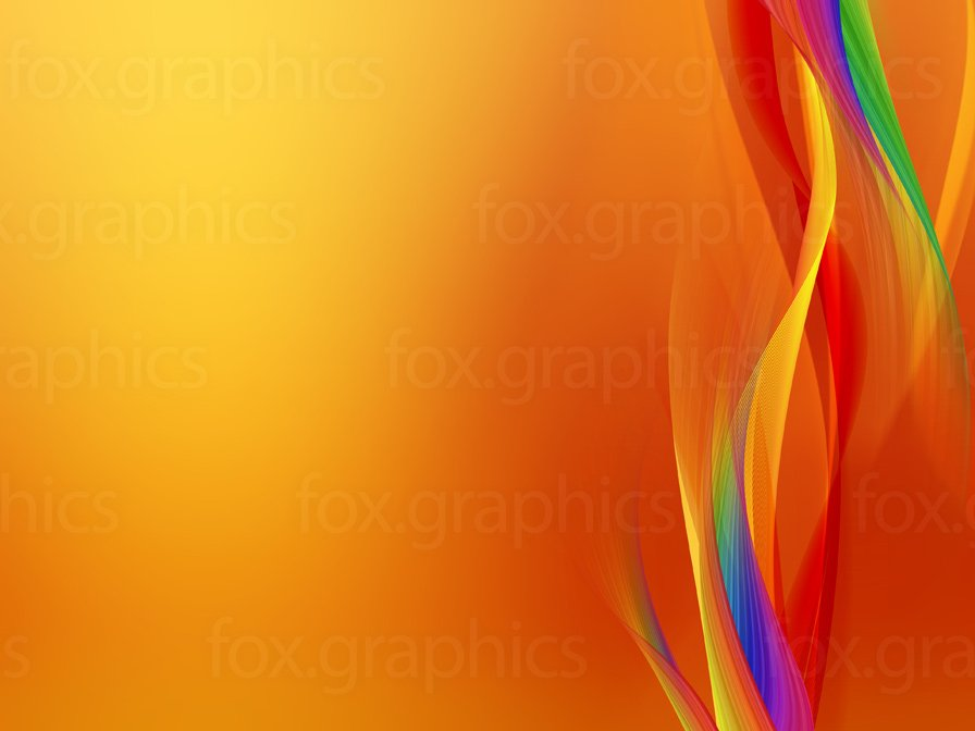 Cool orange background   Fox Graphics 896x672