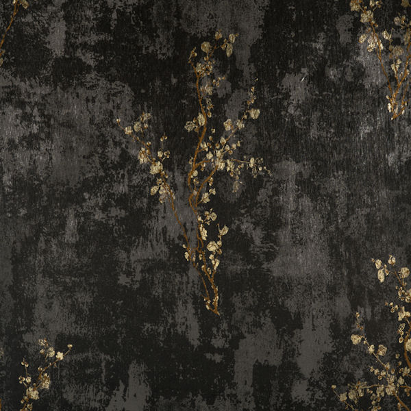 Black and Copper Zen Wallpaper   Wall Sticker Outlet 600x600
