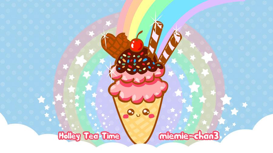 Cute Ice Cream Wallpaper - WallpaperSafari
