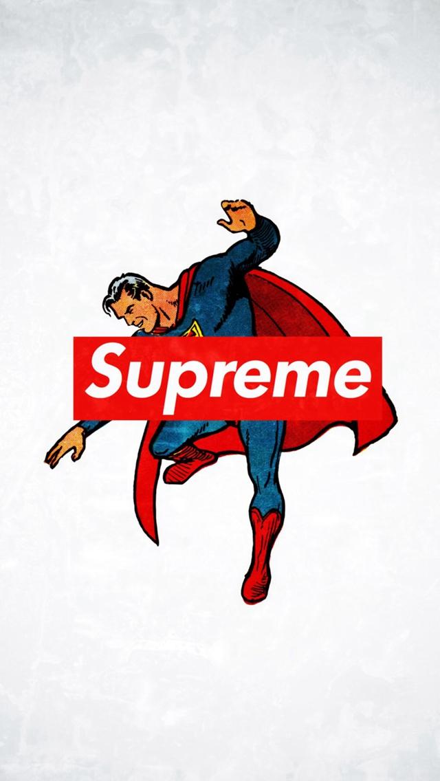 Supreme Trend Logo Film Art iPhone se Wallpapers Download 640x1136