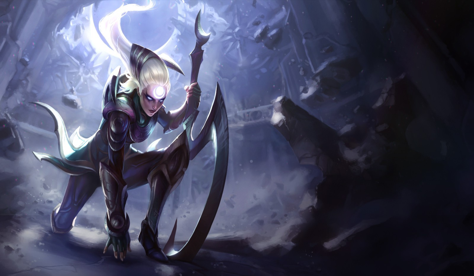 League Of Legends Video Games Diana Wallpapers HD Desktop and 1600x931