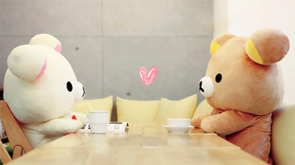 teddybear Cute Wallpaper 1024x576