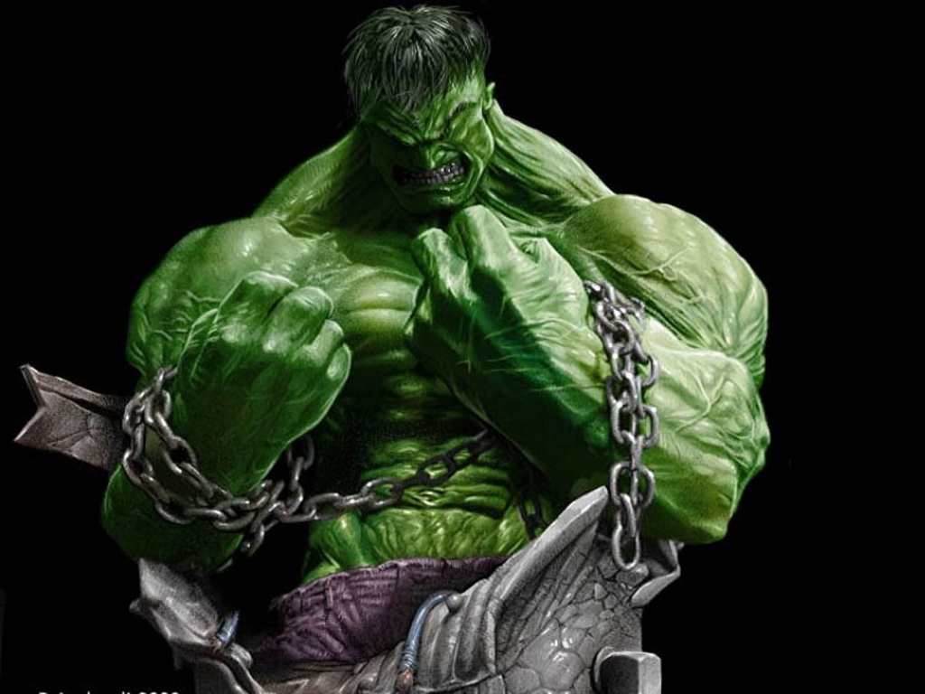 Wallpaper HD Hulk 1024x768